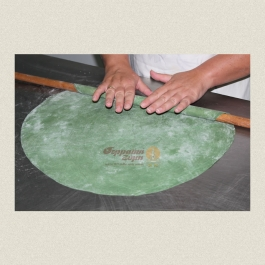 Βιολογικά χειροποίητα φύλλα πίτας με σπιρουλίνα (6 φύλλα) κατεψ.